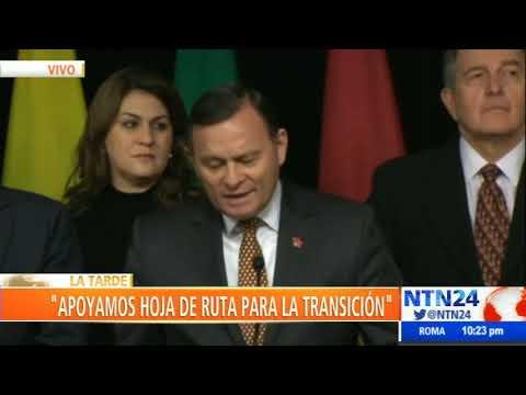 Grupo de Lima respalda presidencia interina de Guaidó y reitera elecciones libres