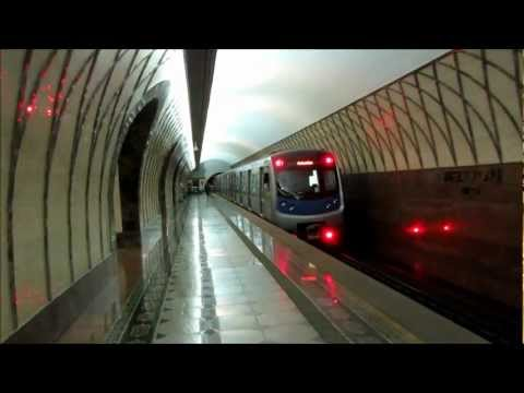 Metro/Subway of Almaty, Kazakhstan