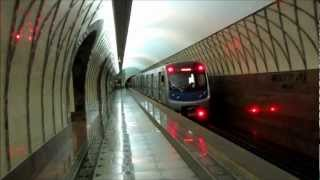 Metro/Subway of Almaty, Kazakhstan