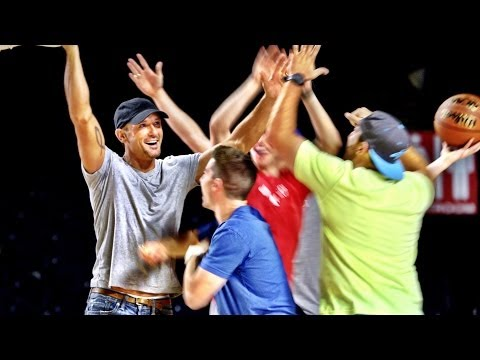 Thumbnail: Tim McGraw Trick Shots | Dude Perfect