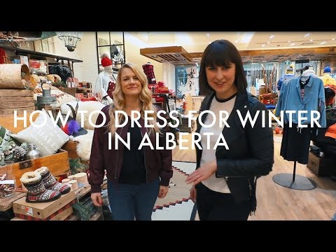 What To Wear In Alberta In Winter | With Kara Chomistic | Alberta, Canada