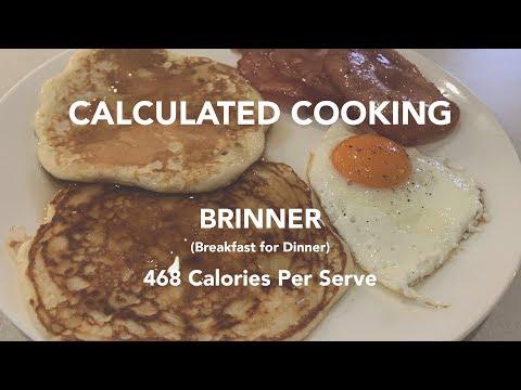 468 Calorie Brinner (Breakfast for Dinner)