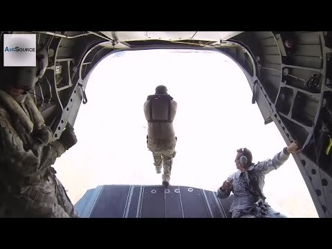 Mississippi National Guard Soldiers Conduct Helocast Exercise