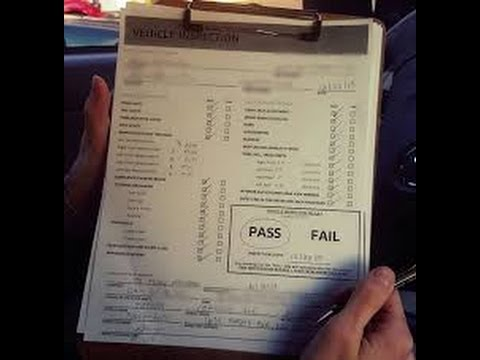 Uber car inspection - YouTube