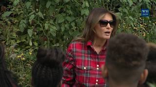 The First Lady Hosts a White House Kitchen Garden Event