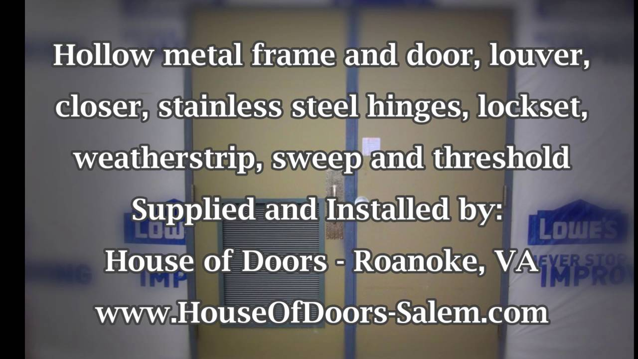 A Picture Is Worth A 1000 Words Hollow Metal Frame And Doors For