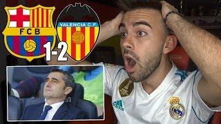 HINCHA del REAL MADRID reacciona al FC BARCELONA 1-2 VALENCIA Final Copa del Rey 2019