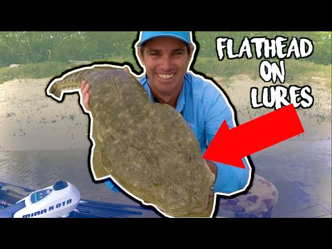 Flathead On Lures MADE EASY | Fishing The Gold Coast