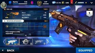 New Class MC5. Tier 2 weapon. Fastest mobility.