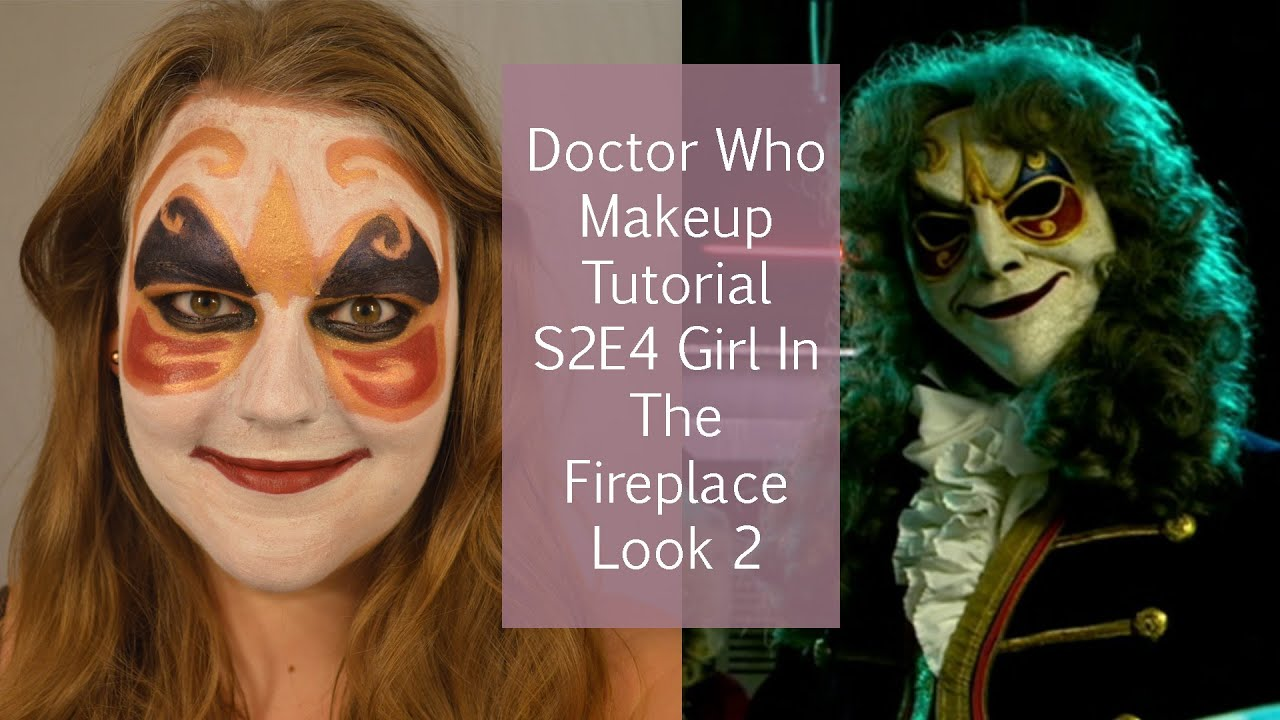Doctor Who Makeup Tutorial S2E4 The Girl In The Fireplace Look 2 - YouTube  sc 1 st  YouTube & Doctor Who Makeup Tutorial S2E4 The Girl In The Fireplace Look 2 ...
