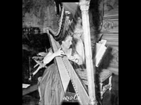 Harp : Lily Laskine plays BOÏELDIEU, Concerto for Harp and Orchestra (Andante lento)