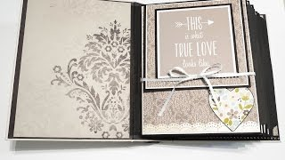 Elegant Wedding Scrapbook Album