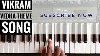 Vikram Vedha Theme Song On Piano | Karuppu Vellai | R. Madhavan | Vijay Sethupathi