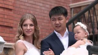 Красивая невеста. Русско-китайская свадьба. Очень красиво.