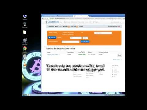 How To Buy Bitcoins With PayPal On LocalBitcoins