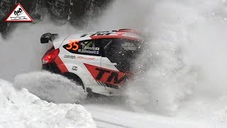 Crash & Full Attack Friday WRC Rally Sweden 2018 [Passats de canto]