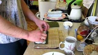 роллы маленькие - суши делаем сами