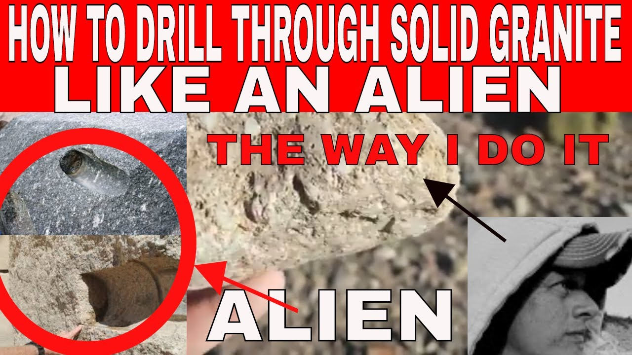 How To Drill A Hole In Granite Rock