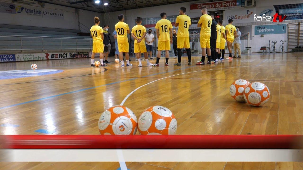 Futsal da AD Fafe já trabalha com muita ambição.