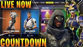 NEW Fortnite ITEM SHOP COUNTDOWN 27th August! New skins COMING! (ITEM SHOP RESET)