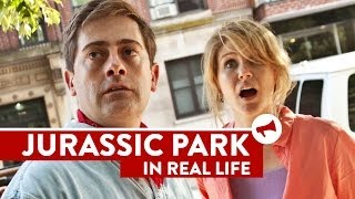 Repeat youtube video Jurassic Park In Real Life - Movies In Real Life (Episode 6)