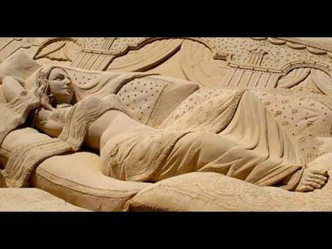 Sand art: VARANASI के SAND ARTISTS का कमाल देखिए