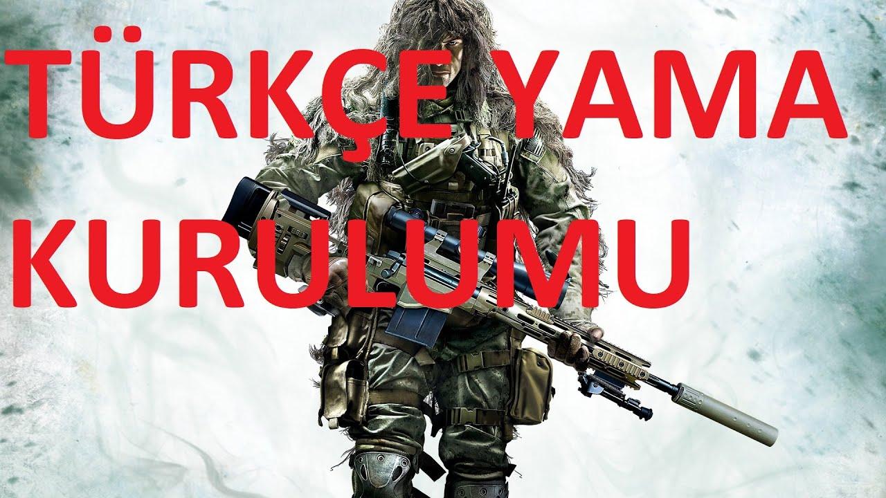 Sniper: Ghost Warrior Contracts Türkçe Yama Kurulumu