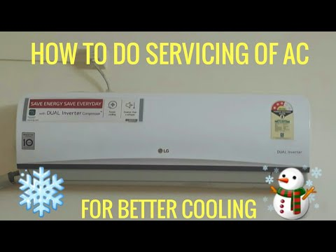 How To Clean AC Filter At Home||Cleaning|| For Better Cooling ⛄❄