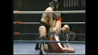 Lazor Tron vs Denny Brown NWA wrestling