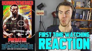Predator (1987) - MOVIE REACTION - FIRST TIME WATCHING