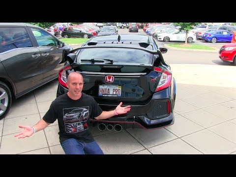The Day I Picked Up My 2017 Honda Civic Type R
