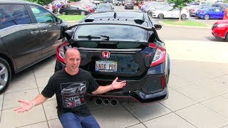 The Day I Picked Up My 2017 Honda Civic Type R thumbnail