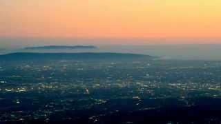 View of Los Angeles from Mount Wilson + Catalina Island + Dodgers game + USC game + BLIMP