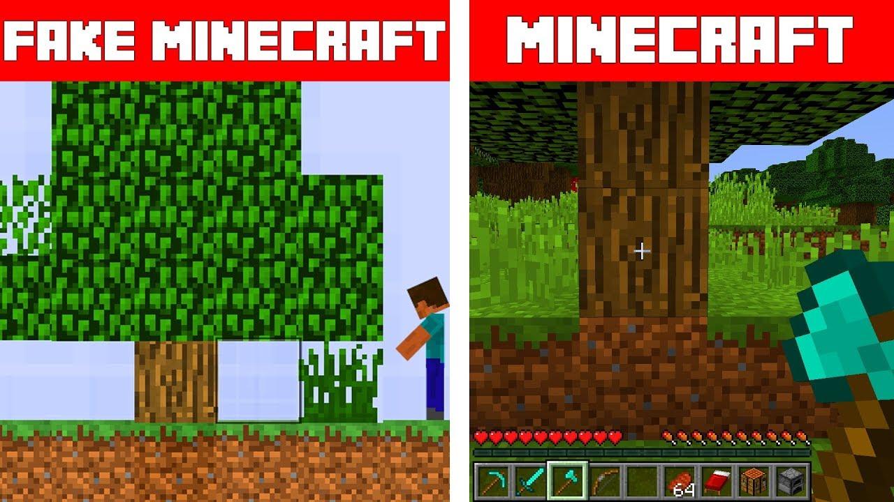 Fake Minecraft