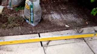 DIY Paving slabs for Garden shed