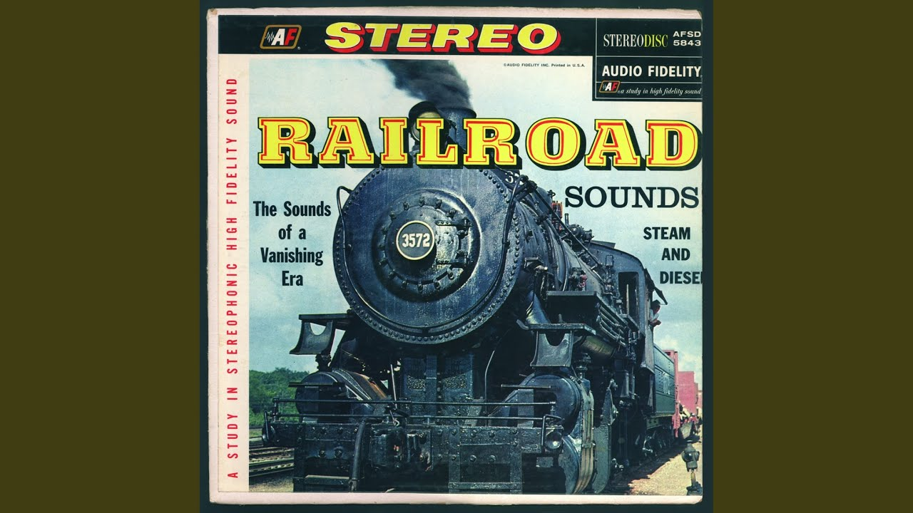 Steam Train Sounds - YouTube