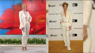 Андре Тан втілив три різні образи у стилі Шерон Стоун – Правила моди