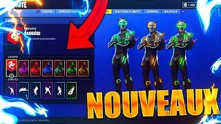 "ALL TRANSFORMATIONS OF SKIN ""OMEGA"" ON FORTNITE!! COMBAT PASSSE 4, PALIER 100!!"