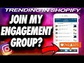 How To Join My ULTIMATE Instagram Engagement Group & GAIN A THOUSAND FOLLOWERS IN ONE DAY |Algorithm