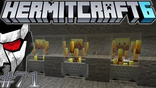 Hermitcraft VI - Bouncing Betty Trap on Steroids! - Let's play Minecraft 1.13 - Episode 71