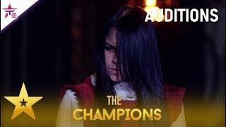 Gambar cover Sacred Riana: She Is BACK And TERRIFIES With More Spooky Magic!| Britain's Got Talent: The Champions