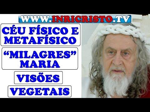 INRICRISTO.TV 25/08/2018 - Dogmas, céu, milagres, visões, vegetarianismo, doenças psicossomáticas