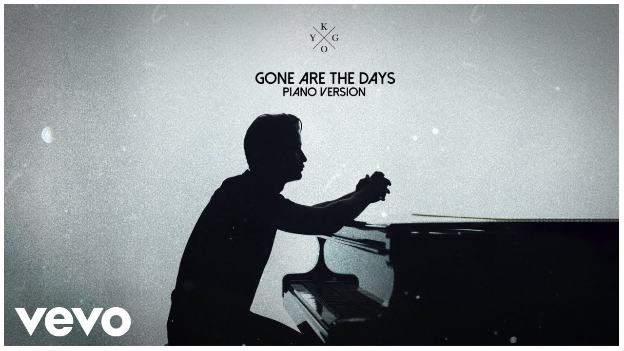 Kygo - Gone Are the Days Piano Jam 4