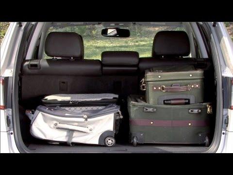 2010 Hyundai Santa Fe - Cargo Capabilities