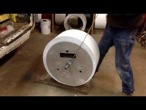 One  man gutter coil loading-SOLOADER