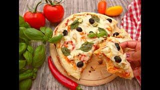 চিকেন প্যান পিজ্জা || চুলায় তৈরী পারফেক্ট পিৎজা || Easy Pizza On Pan || Chicken Pizza Without Oven