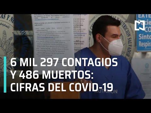 Conferencia sobre coronavirus en México l 486 muertos por coronavirus en México - Las Noticias