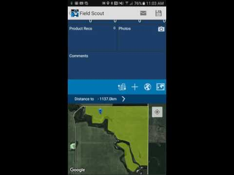Adding Scouting Path in Agri-Data Mobile
