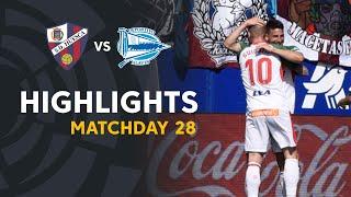Highlights SD Huesca vs Deportivo Alaves (1-3)