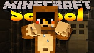 Minecraft School -  MAX THE MONKEY GETS KIDNAPPED!